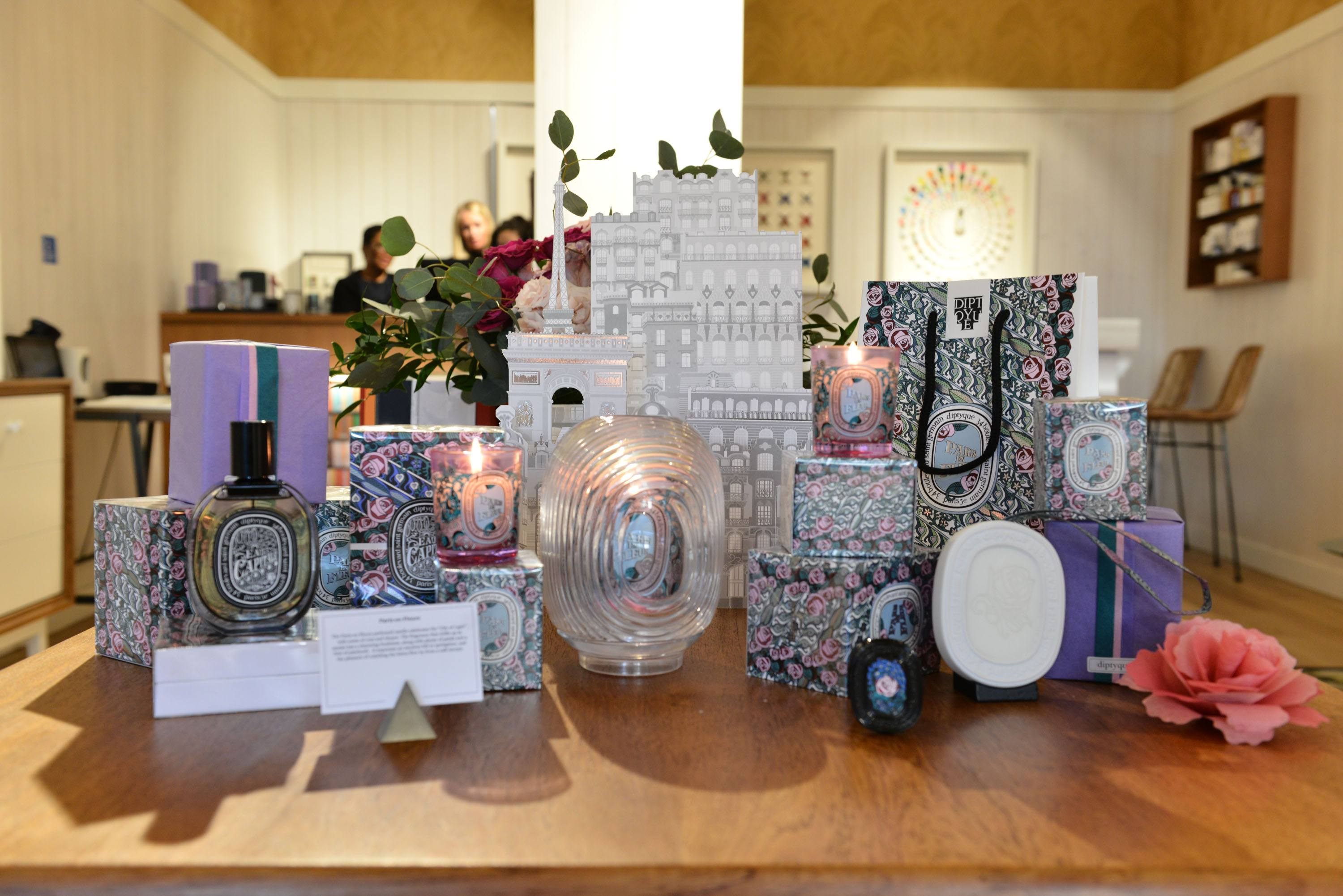 Limited edition seasonal candles and accessories available at Diptyque Bal Harbour on Level 3
