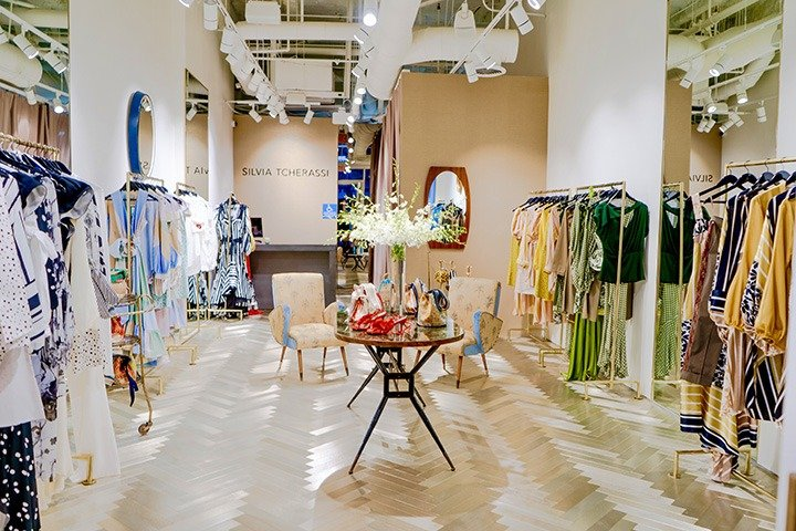 Inside the newly opened Silvia Tcherassi pop-up on Level 2 of Bal Harbour Shops