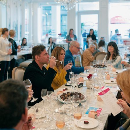 Vasalissa Chocolatier on Level 3 of Bal Harbour Shops hosted a Wine and Chocolate Pairing with South Beach Wine & Food Festival on Saturday, February 22nd, 2020.