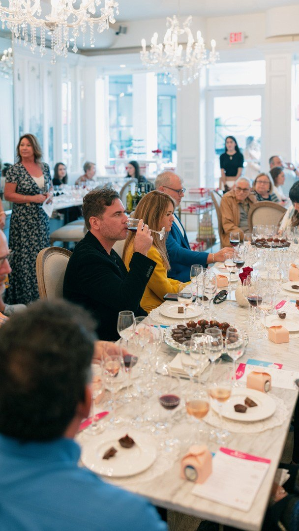 Vasalissa Chocolatier Wine and Chocolate Pairing with South Beach Wine & Food Festival