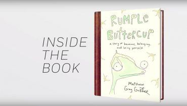 Go behind the scenes with author Matthew Gray Gubler as he discusses the origins of his book RUMPLE BUTTERCUP