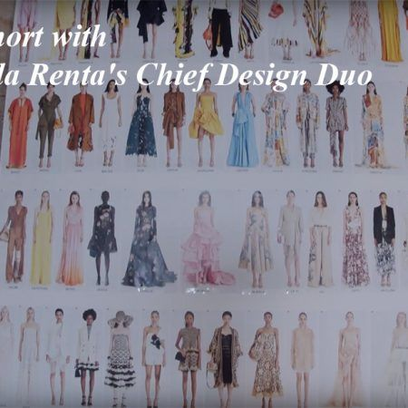 A Film Short with Oscar de la Renta's Chief Design Duo
