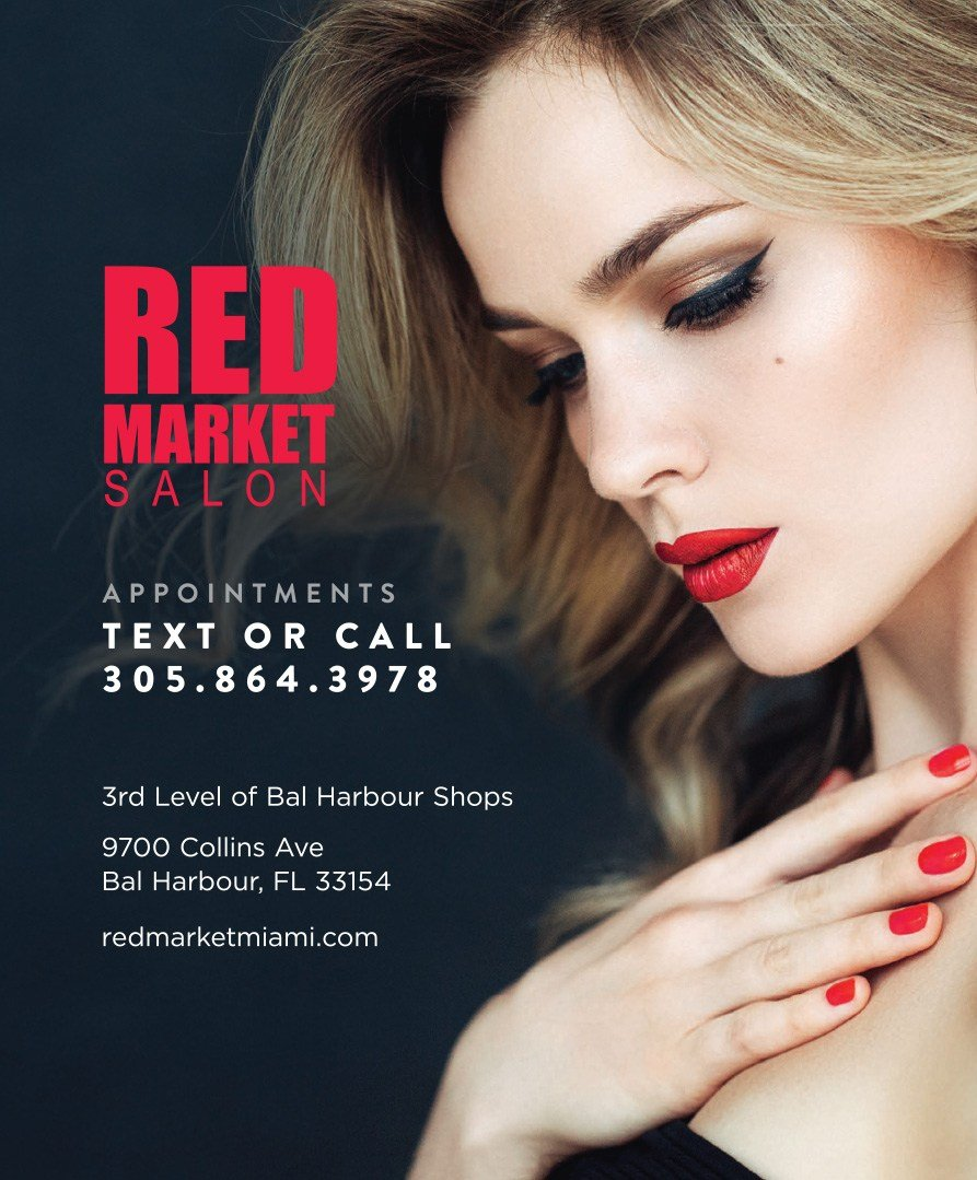 Red Market Salon Spring 2020 Ad