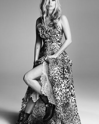Ermanno Scervino's SS20 Campaign featuring Kate Moss