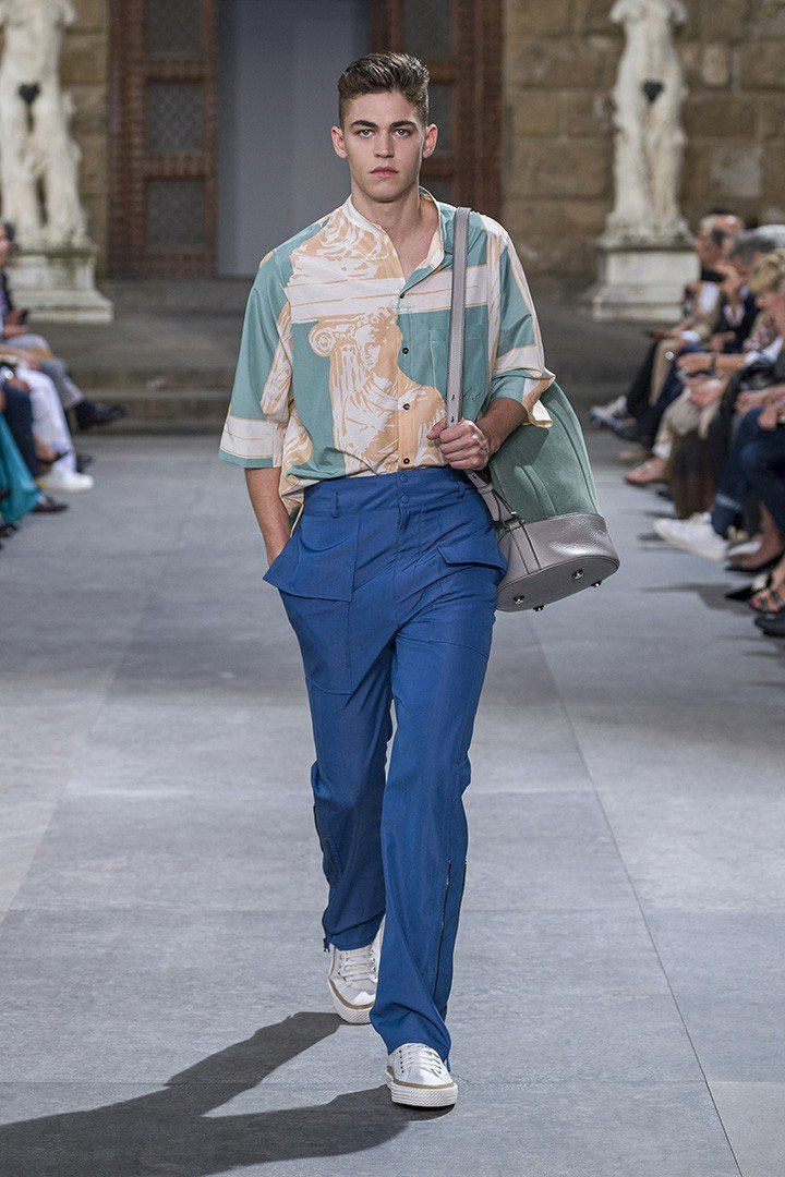 Salvatore Ferragamo Summer 2020 Men's Runway Look