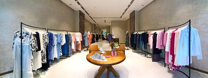 Inside the newly opened Scanlan Theodore Bal Harbour on Level 2 of the Shops