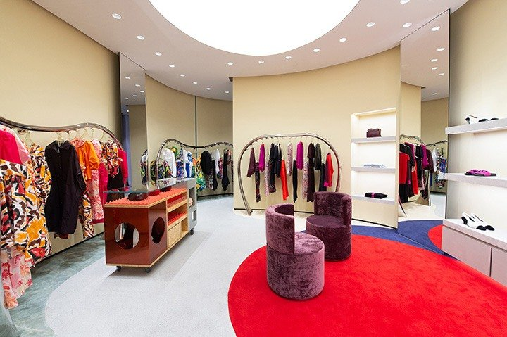 Inside the playful Marni Bal Harbour boutique