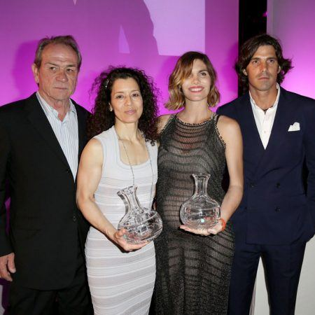 Tommy Lee and Dawn Jones with Delfina Blaquier and Nacho Figueras