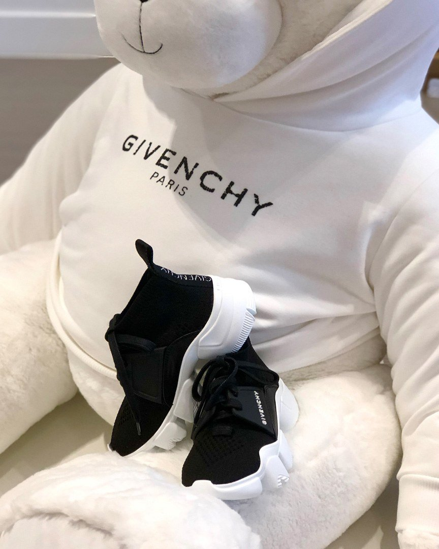 Givenchy kids chunky slip-on logo sneaker at Couture Kids Bal Harbour