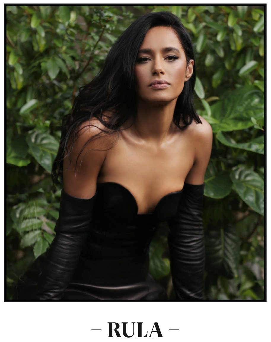Rula Jebreal photographed by photographer artist Pablo Costanzo