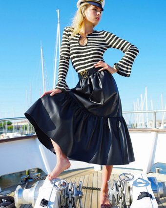 A Look from PINKO's A New Marina Special Capsule Collection