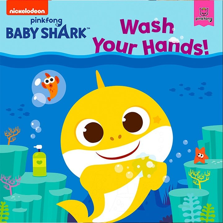 Baby Shark Wash Your Hands by Pinkfong