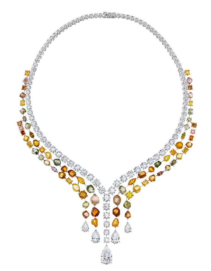 Vulcan Necklace from the De Beers Couture Collection