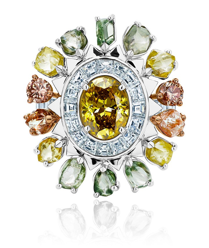 Knysna Chameleon Ring from the De Beers Portraits of Nature Collection