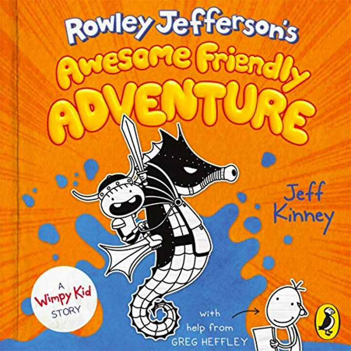 Rowley Jefferson's Awesome Friendly Adventure by Jeff Kinney