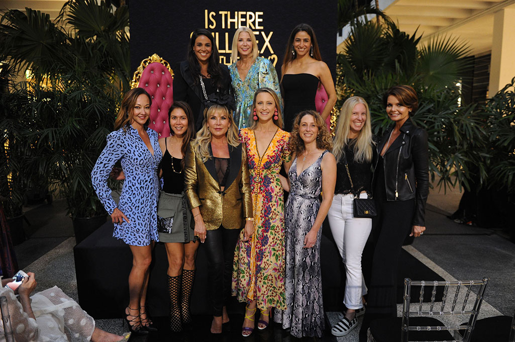 Candace Bushnell and Hostesses