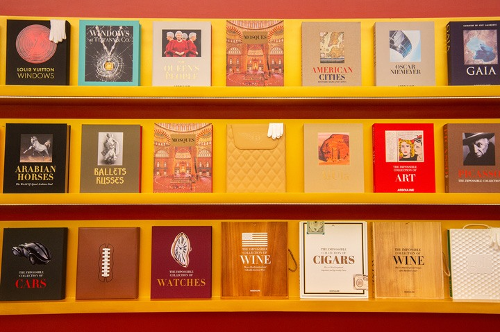 Assouline Bal Harbour is home to some of the brand's most iconic collectible editions, photographed by World Red Eye.