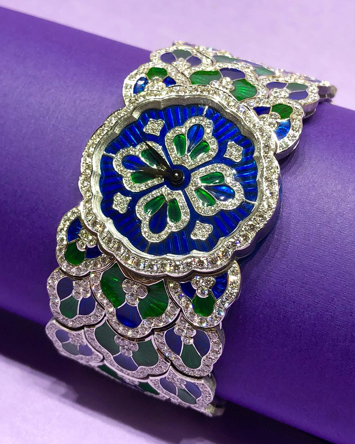 Buccellati Bluebell High Jewelry Watch