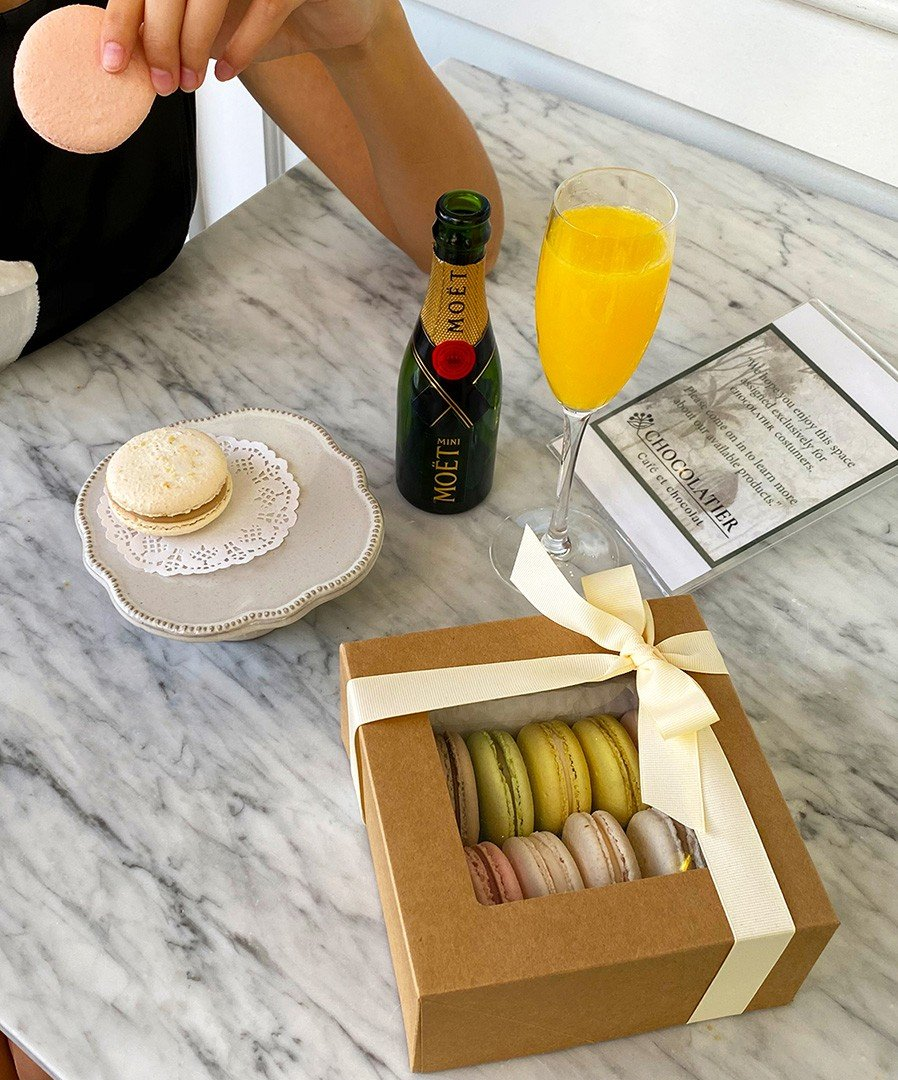 Macaron gift set available at Chocolatier Bal Harbour.