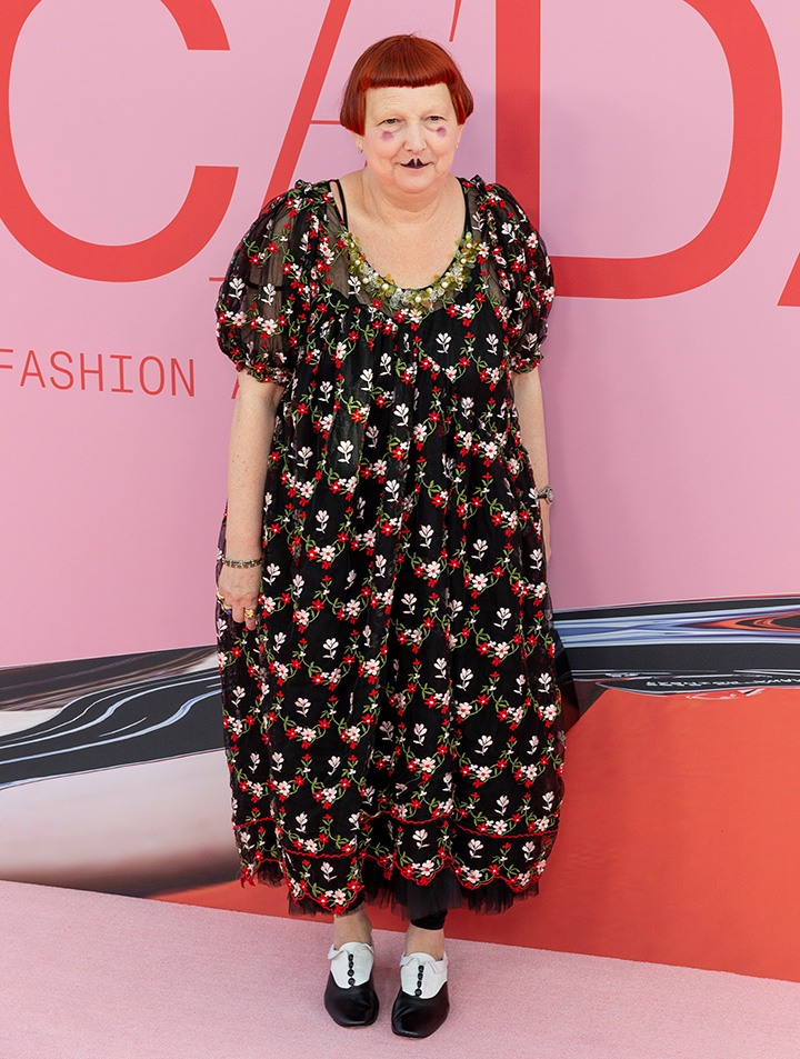 Lynn Yaeger attends 2019 CFDA Fashion Awards at Brooklyn Museum. Courtesy of Shutterstock.