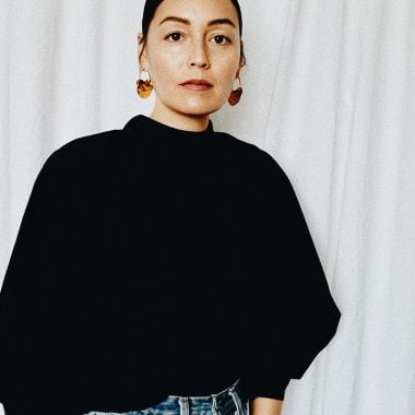 New York City-based stylist, creative director and brand image consultant Rachel Wang.