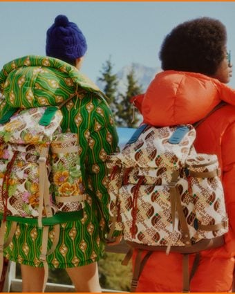 The North Face X Gucci Collection Campaign