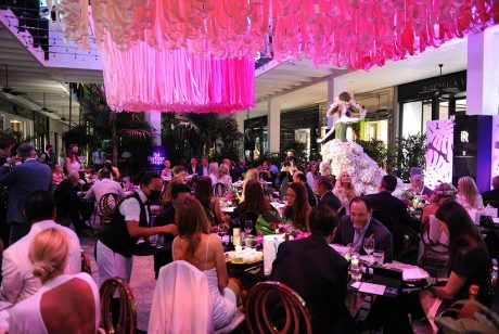 Bal Harbour Shops ACCESS Membership and Rewards Program presents Fashion Among the Flowers in honor of BCRF. Photo by World Redeye