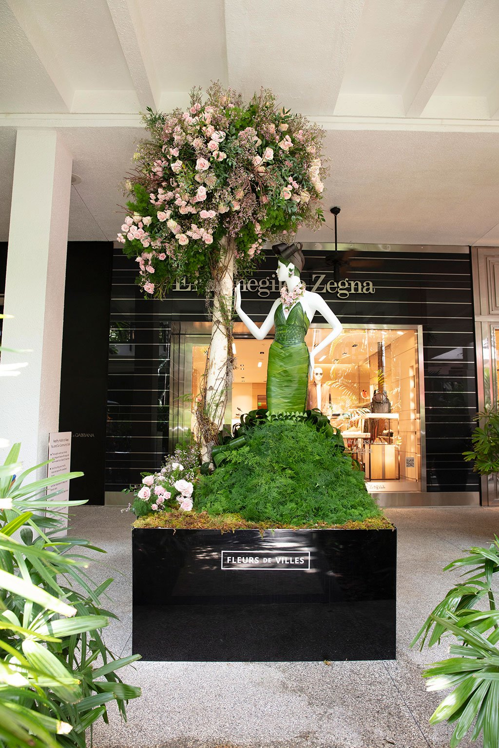 Chopard Mannequin Created by Gilded Group Décor. Photo by Theodora Richter