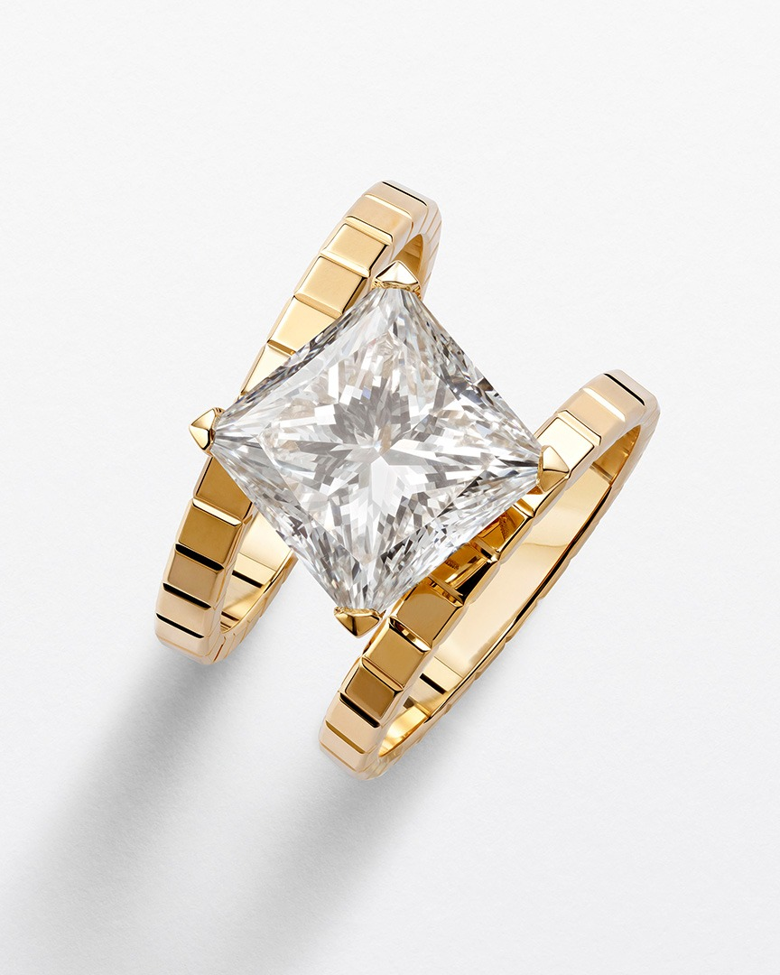 """Chopard ring from the """"Ice Cube High Jewelry Collection""""."""