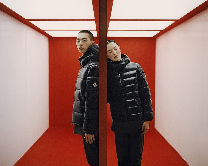 Moncler's 2021 Lunar New Year Collection in collaboration with Chinese Photographer Leslie Zhang.