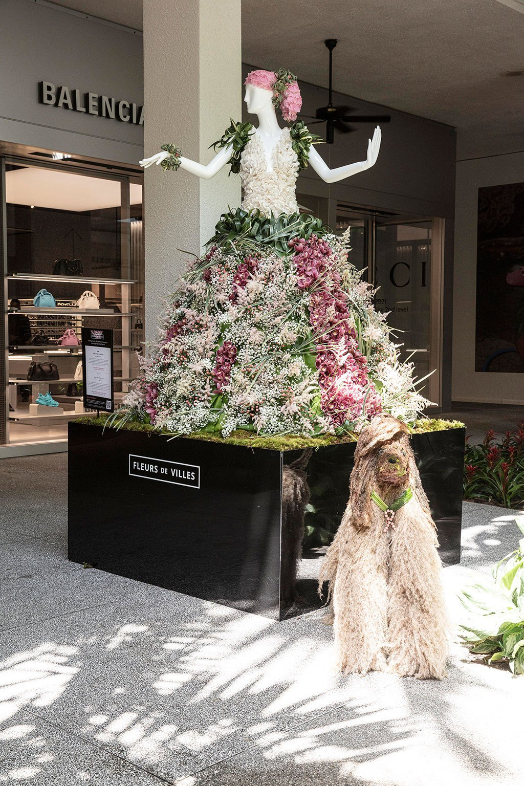 Ritz-Carlton Bal Harbour Mannequin Created by Alejandro Figueira. Photo by Theodora Richter
