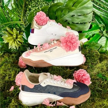 Stella McCartney Loop Lace-Up sneakers available at Stella McCartney Bal Harbour.