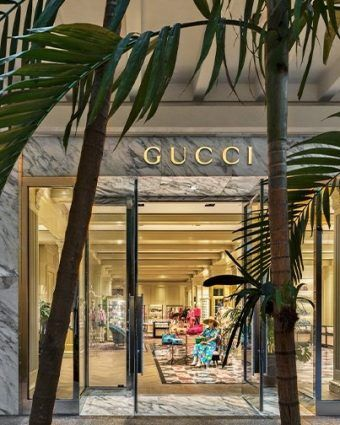 Gucci store front