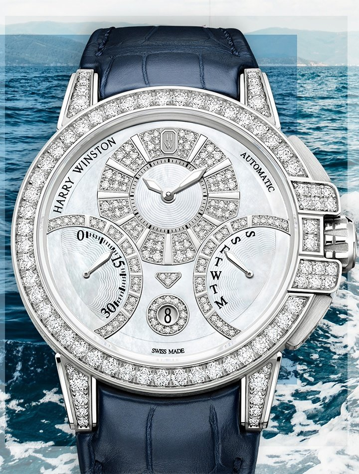 Harry Winston Ocean collection timepiece