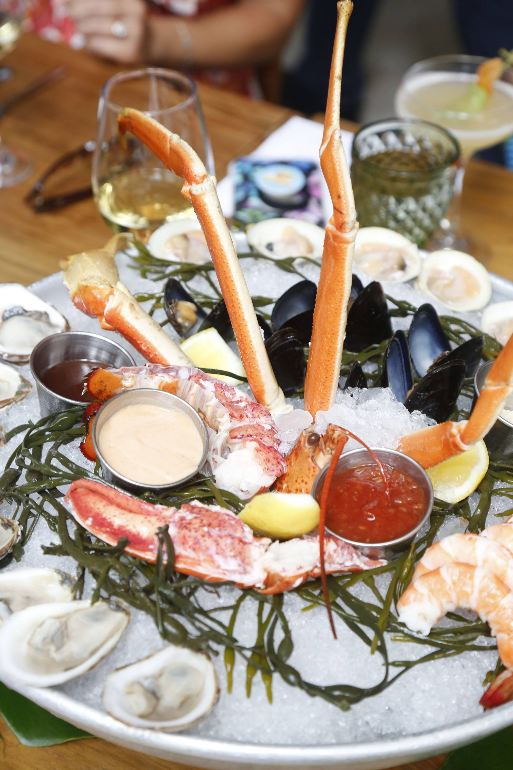 Le Zoo's seafood tower