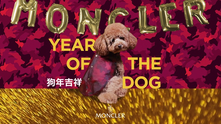 Moncler year of the dog