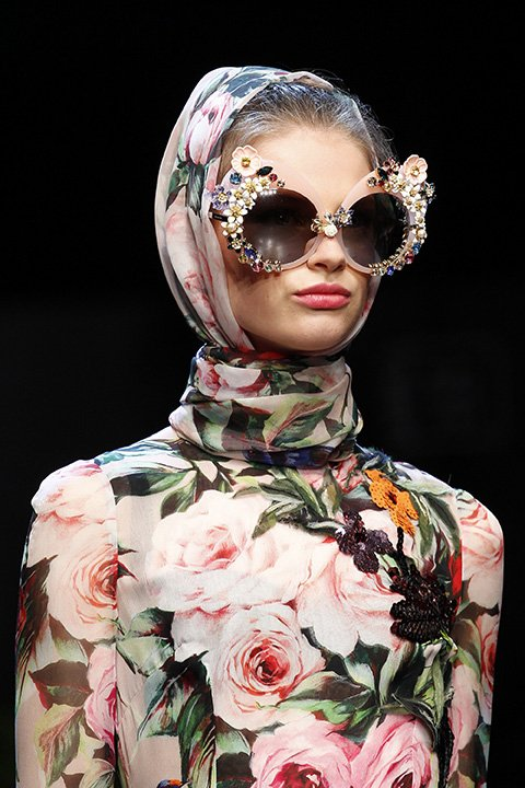 A serious pair of statement making shades from Dolce & Gabbana